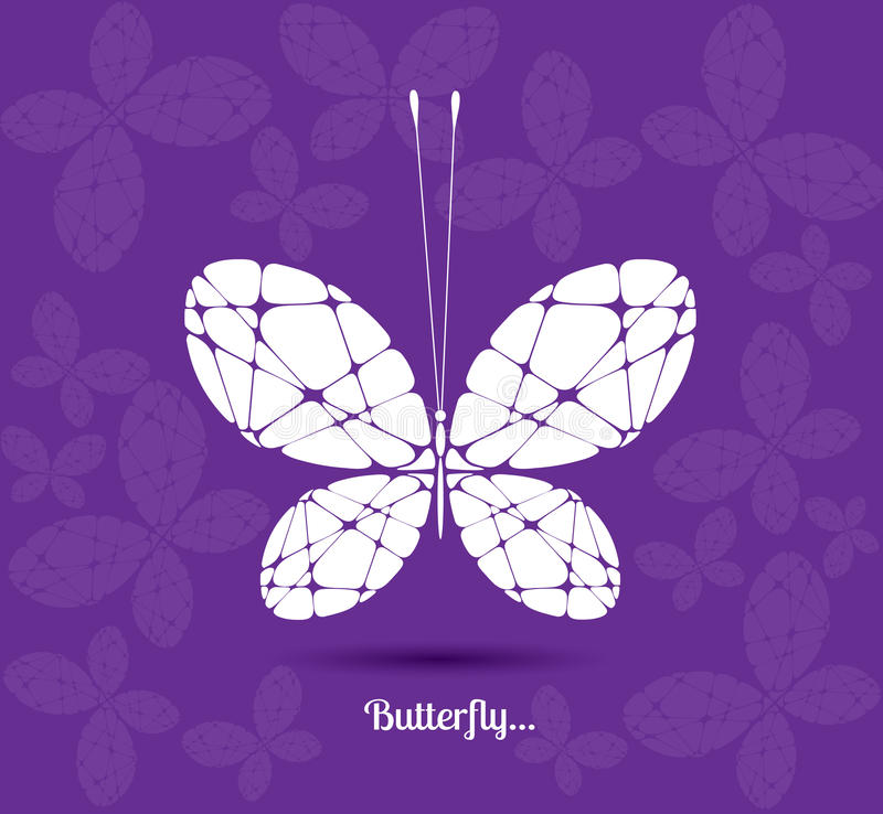 Image of a butterfly vector illustration