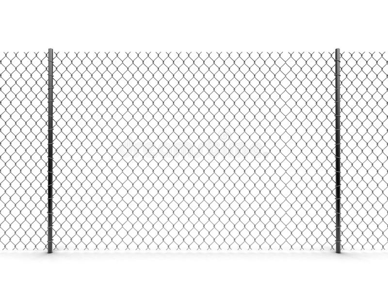 Image of Chainlink fence. Chainlink fence. Image with clipping path vector illustration