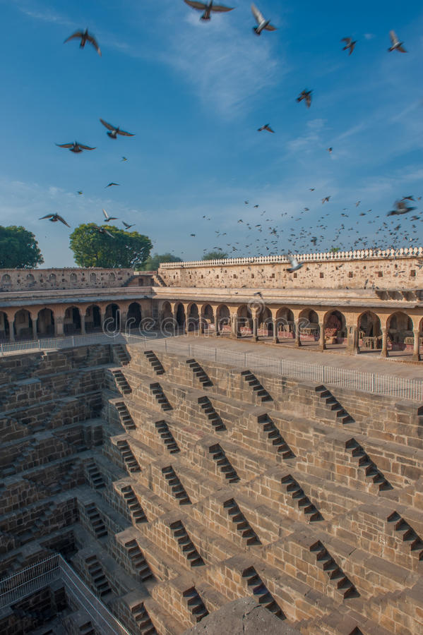 Download Chand Baori, One Of The Deepest Stepwells In India Stock Photos - Image: 29894283