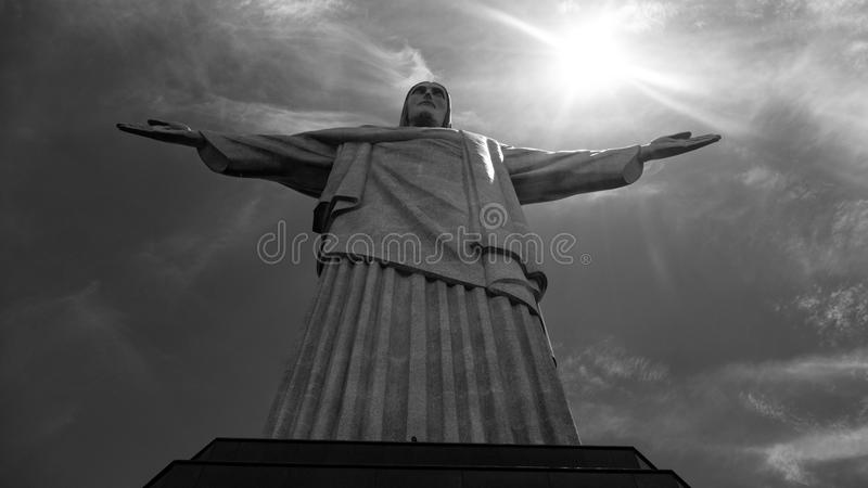 Image of Christ Rio de Janiero Brazil royalty free stock photography