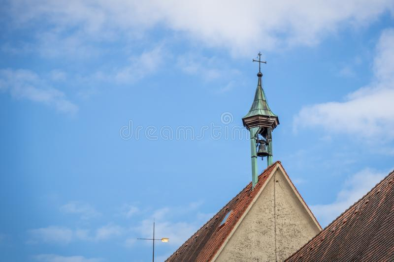 Chuch holy cross at Rottweil Germany. An image of the chuch holy cross at Rottweil Germany stock photography