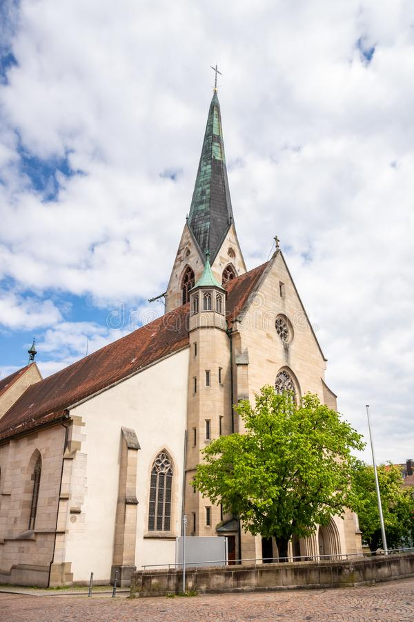 Chuch holy cross at Rottweil Germany. An image of the chuch holy cross at Rottweil Germany royalty free stock image
