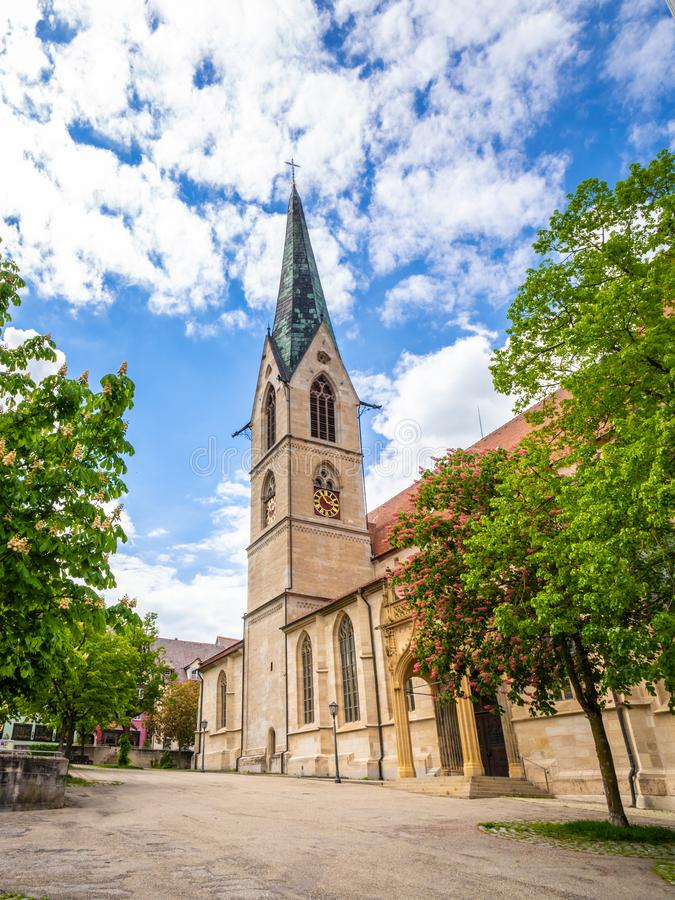 Chuch holy cross at Rottweil Germany. An image of the chuch holy cross at Rottweil Germany royalty free stock photography