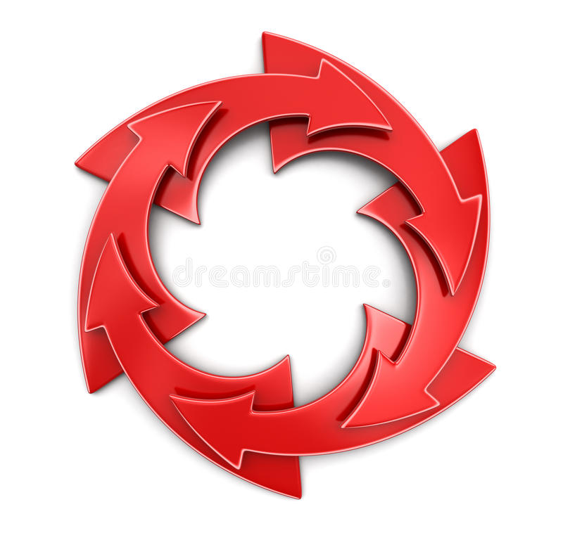 Image of Circular Graph. Circular Graph. Image with clipping path stock illustration