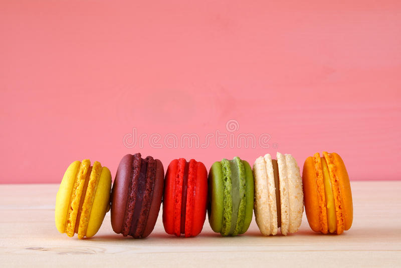 Download Image Of Colorful Macaron Or Macaroon Stock Image - Image: 83707845