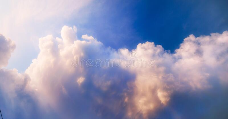 The image of a colorful sky royalty free stock image