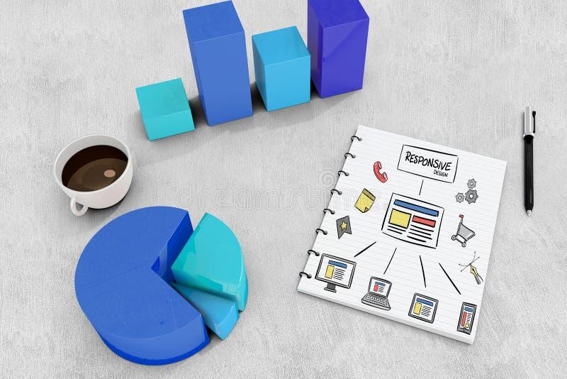 Download Image Composée De Conception Sensible Illustration Stock - Illustration du données, café: 56479084