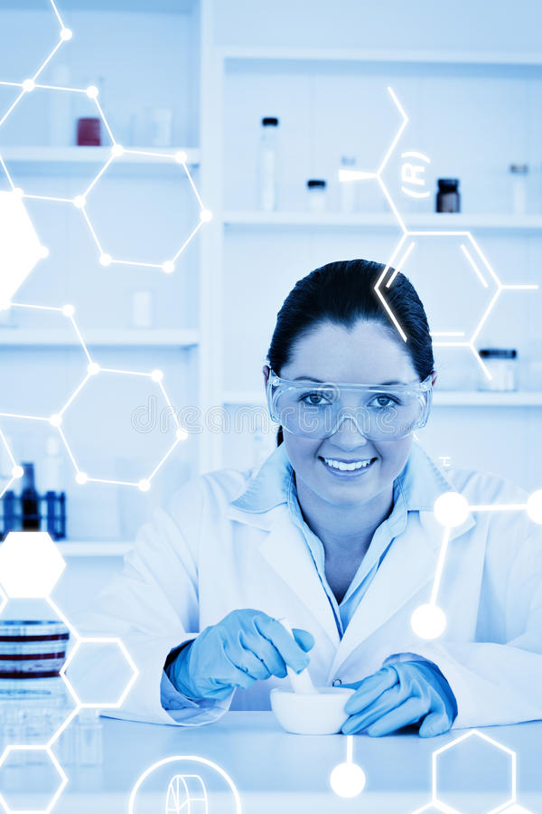 Download Image Composée De Graphique De La Science Photo stock - Image du flacon, chimie: 56477360
