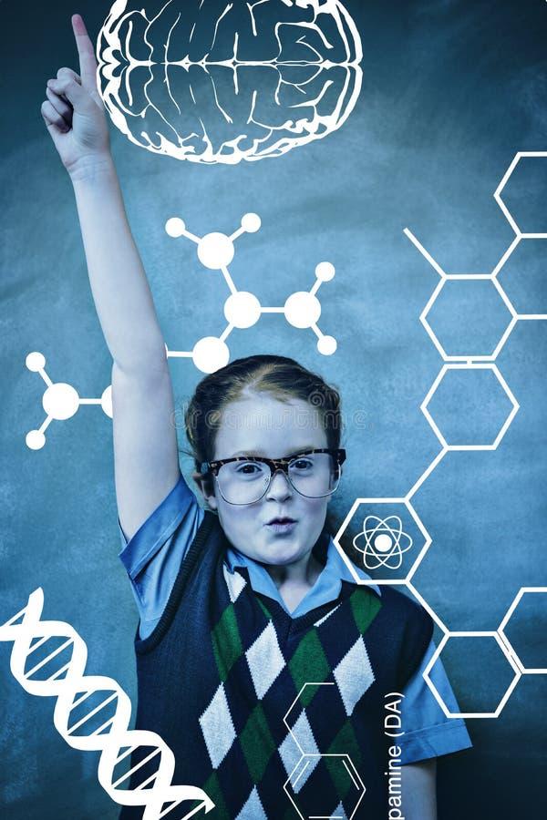 Download Image Composée De Graphique De La Science Image stock - Image du classroom, femelle: 56477713