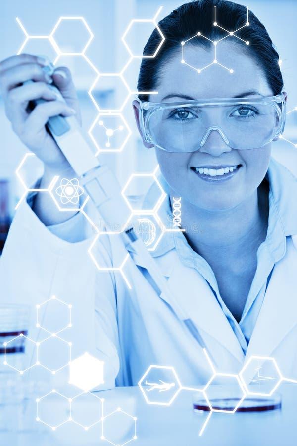 Download Image Composée De Graphique De La Science Image stock - Image du acide, médical: 56477983