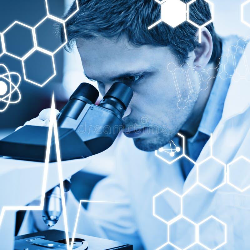 Download Image Composée De Graphique De La Science Photo stock - Image du santé, microscope: 56478448