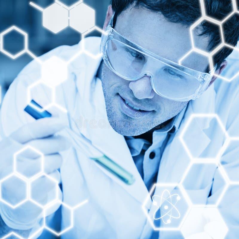 Download Image Composée De Graphique De La Science Image stock - Image du laboratoire, bleu: 56478467