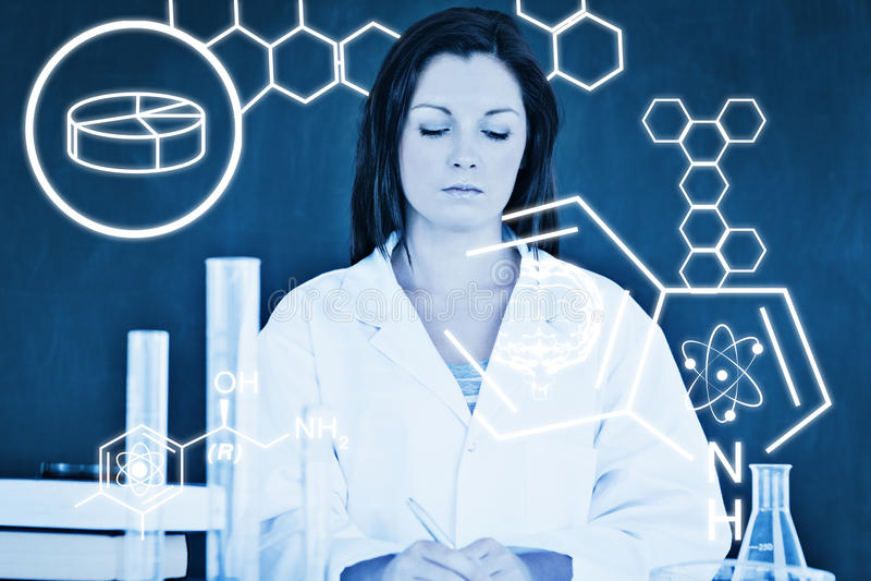Download Image Composée De Graphique De La Science Photo stock - Image du femelle, copie: 56478564