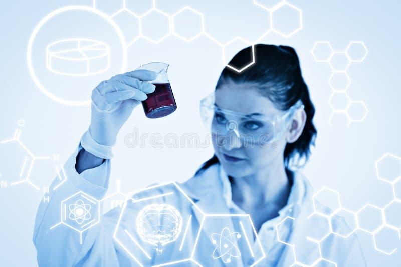 Download Image Composée De Graphique De La Science Photo stock - Image du médecine, bleu: 56478772