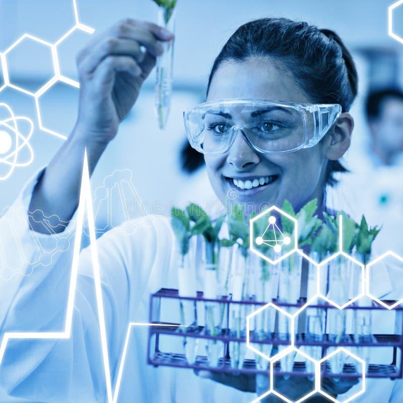 Download Image Composée De Graphique De La Science Image stock - Image du femelle, analyser: 56478889