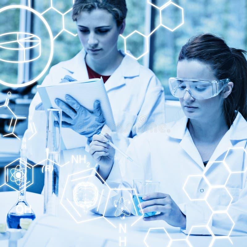 Download Image Composée De Graphique De La Science Photo stock - Image du chimiste, biotechnologie: 56479004