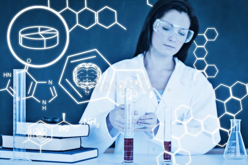Download Image Composée De Graphique De La Science Photo stock - Image du chemical, tableau: 56479098