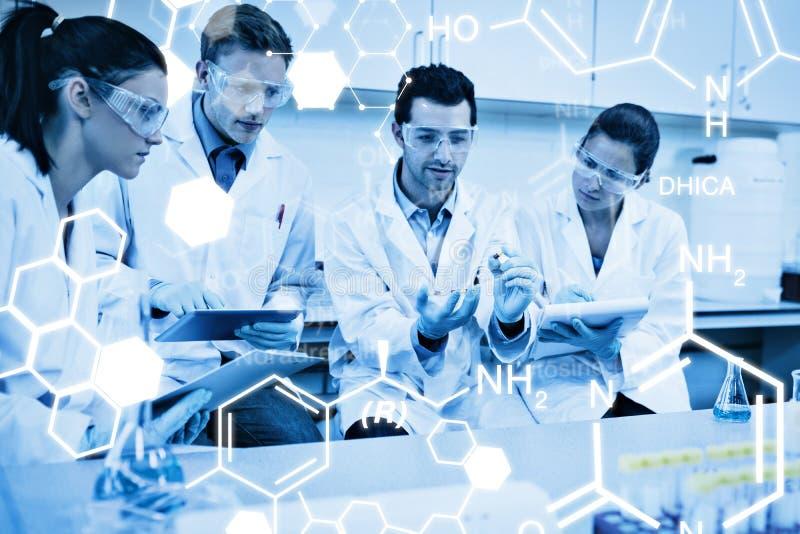 Download Image Composée De Graphique De La Science Image stock - Image du fixation, ordinateur: 56479103