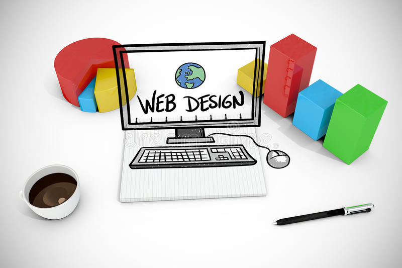 Download Image Composée De Griffonnage De Web Design Illustration Stock - Illustration du texture, digitalement: 56479602