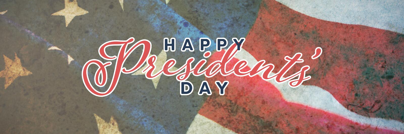 Image composée de jour heureux de présidents typographie photos libres de droits
