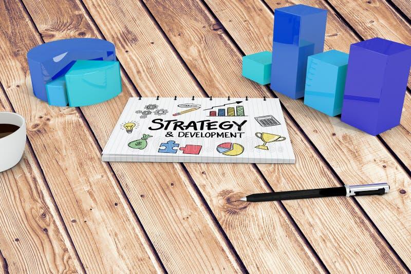 Download Image Composée De Stratégie Et De Griffonnage De Développement Illustration Stock - Illustration du digital, ampoule: 56479087