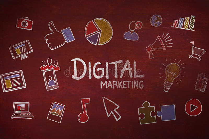 Download Image Composée Du Marketing Numérique Illustration Stock - Illustration du : 56479743
