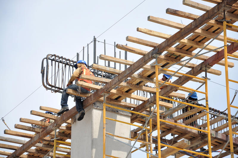 Construction detail royalty free stock photo