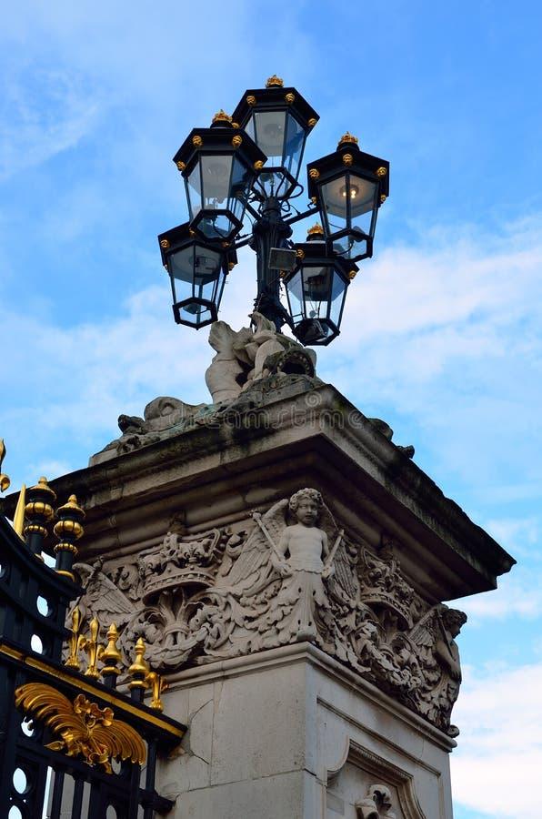 Image courante de Buckingham Palace à Londres images stock