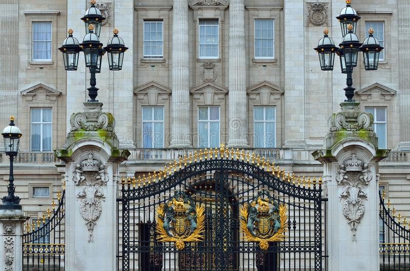 Image courante de Buckingham Palace à Londres image stock