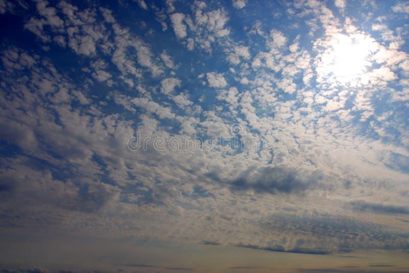 Image courante de coucher du soleil en mer images libres de droits