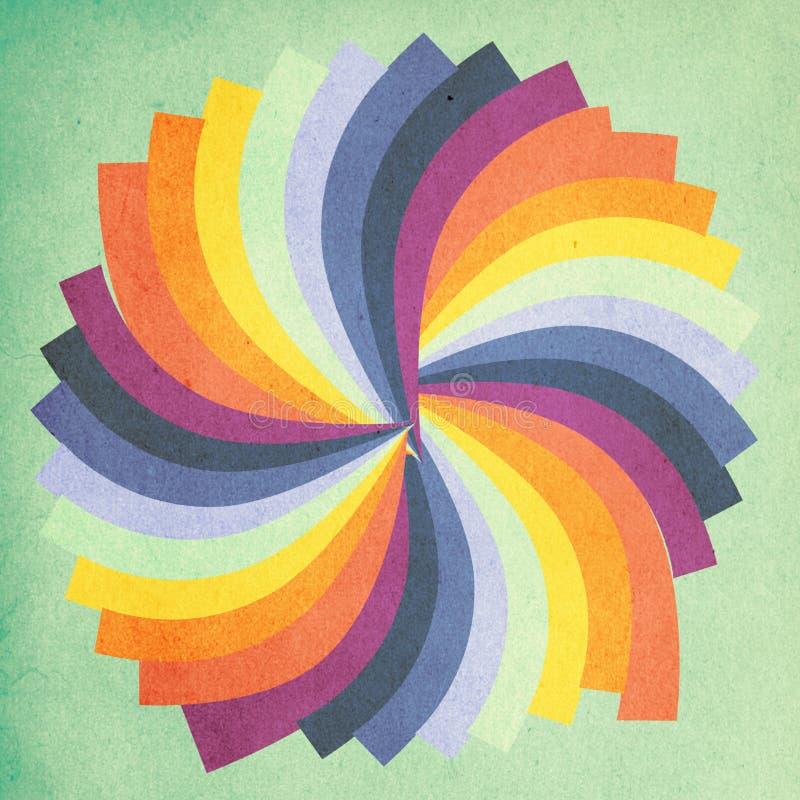 Image d'art, configuration colorée illustration libre de droits