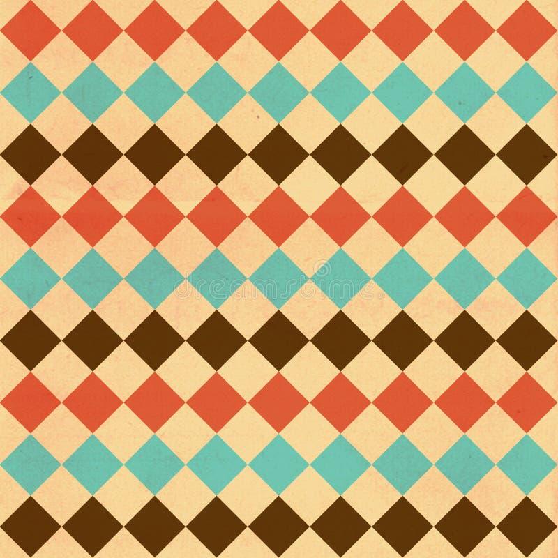 Image d'art, modèle coloré illustration stock