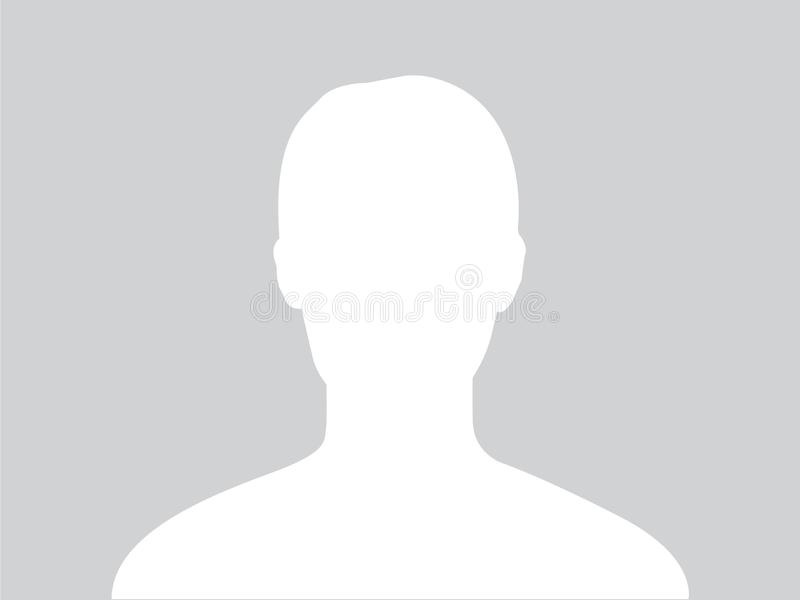 Image d'avatar de profil illustration stock