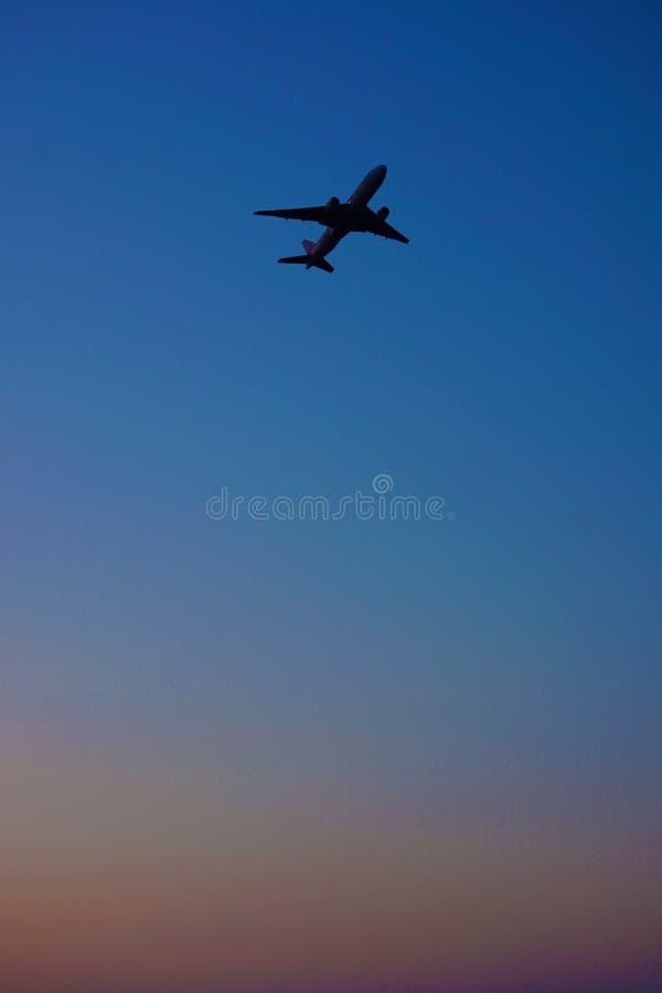 Image d'avion photographie stock libre de droits