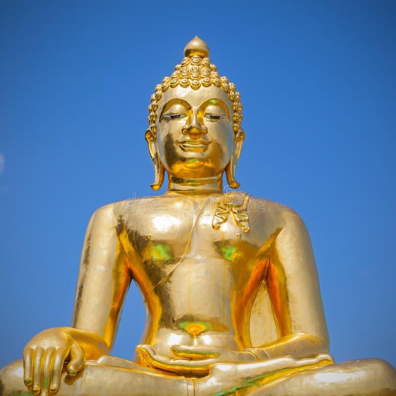 Image d'or de Bouddha image stock