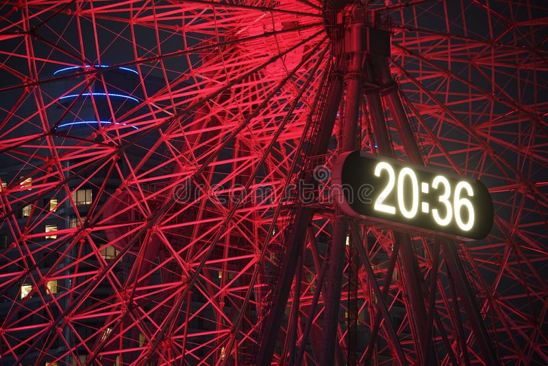 Image d'horloge de Cosmo images stock