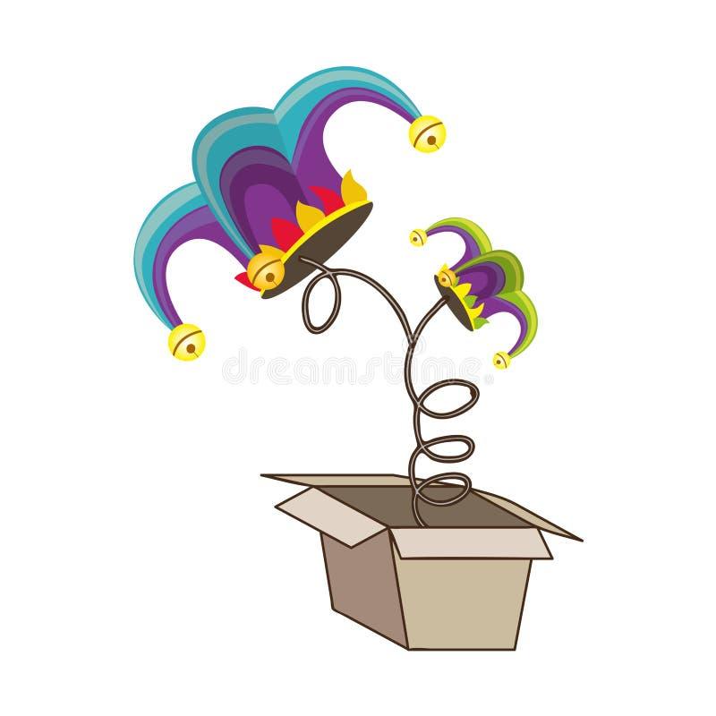 Image d'icône de Jack in the Box illustration stock