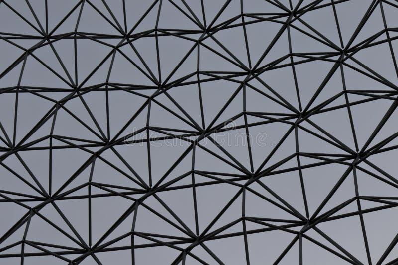 Image d'isolement du trellis en acier photo libre de droits