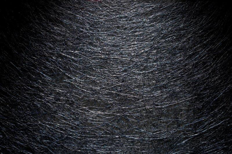 Image d'un ensemble de fils noirs tissés photo stock