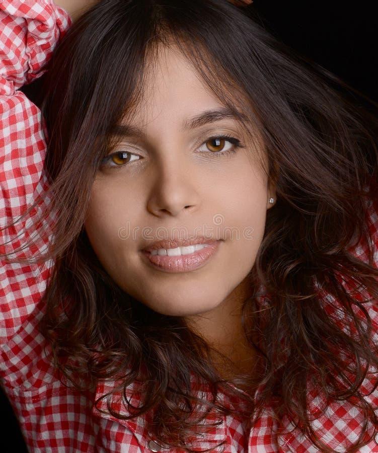 Belle femme latine photo libre de droits