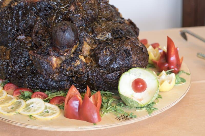 Image d'une cuisse de veau image libre de droits