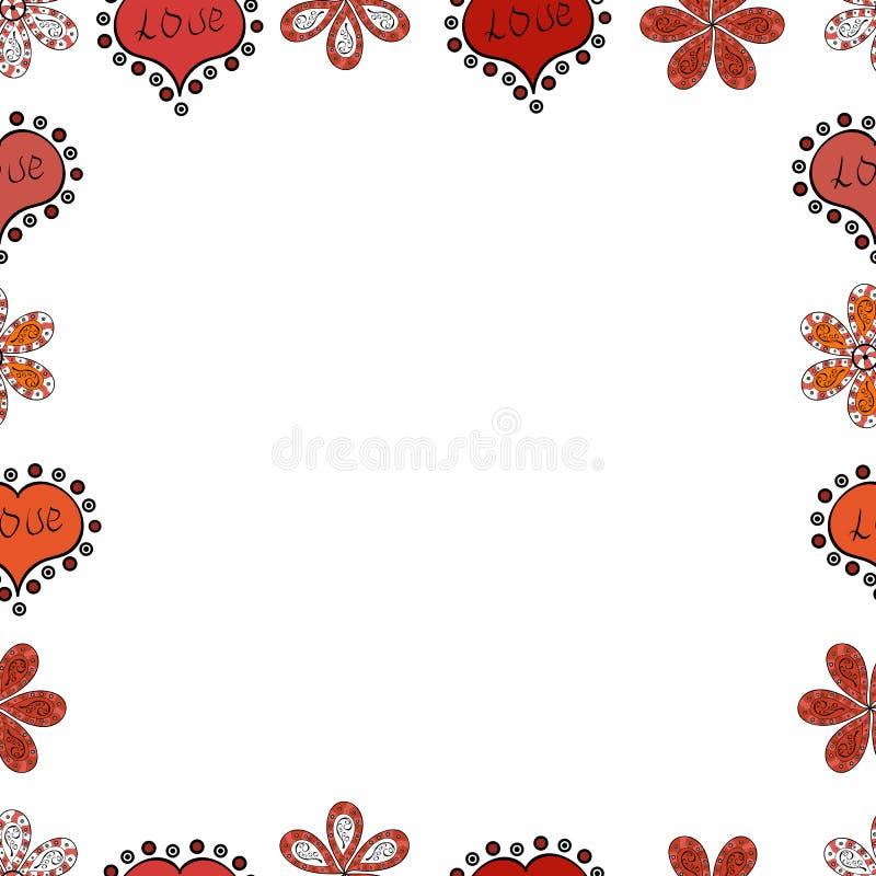 Image dans les couleurs blanches, noires et oranges illustration libre de droits