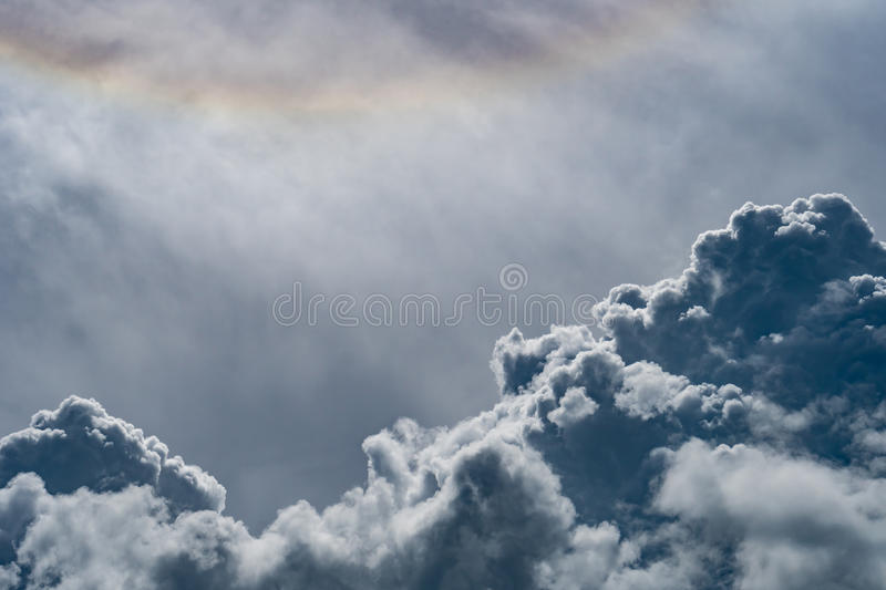 Image of Dark cloud royalty free stock photo