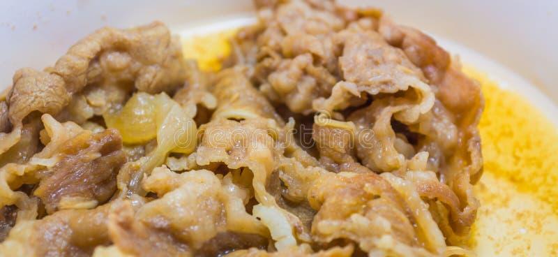 image de bifteck de boeuf cuit de glissière photographie stock libre de droits