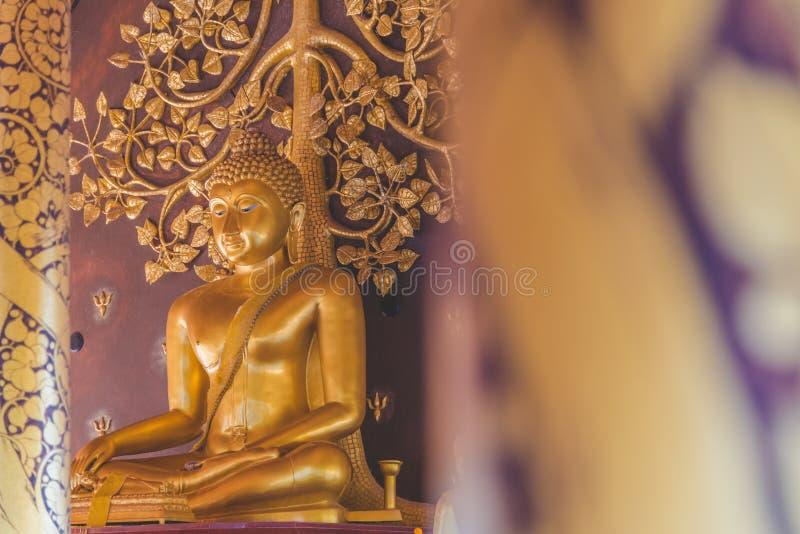 Image de Bouddha dans le temple Wat Phu Prao Thailand de Sirindhorn Wararam Phu Prao image stock