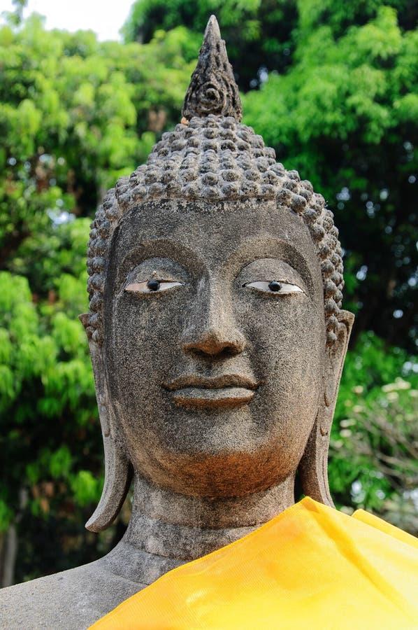 Image de Bouddha de grès photo stock