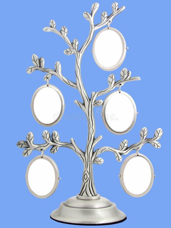 Image de cadre classique d'antiquité de vintage de l'arbre généalogique images libres de droits