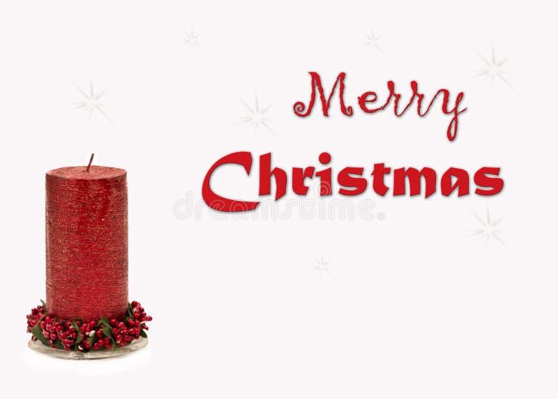 Image de carte de voeux de Noël photos libres de droits