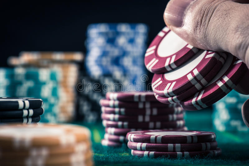 Image de casino photo libre de droits