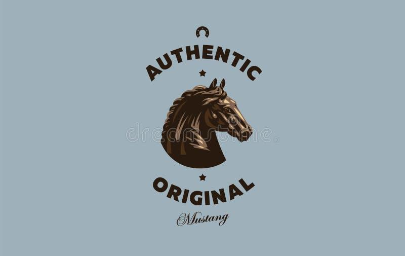 Image de cheval illustration de vecteur
